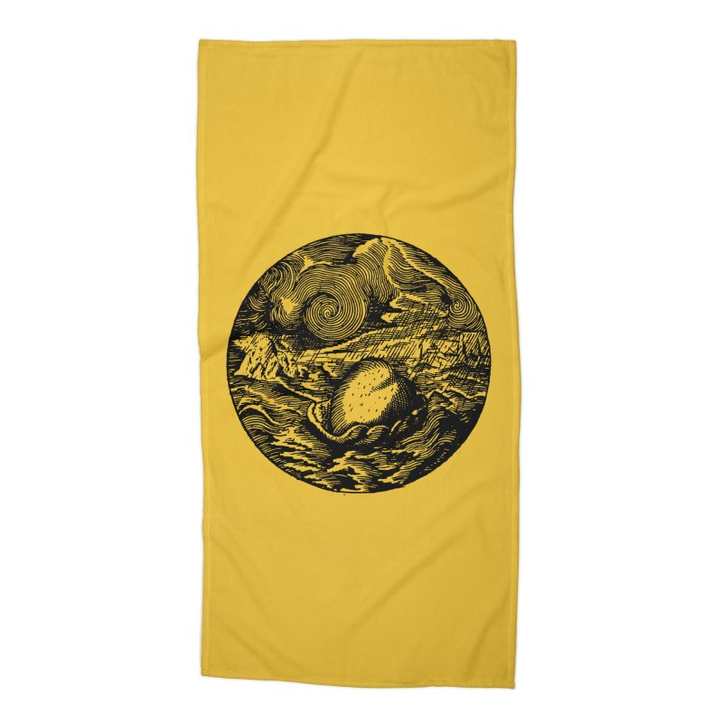 Heart in Peril Accessories Beach Towel by SHOP THORAZOS TSHIRTS