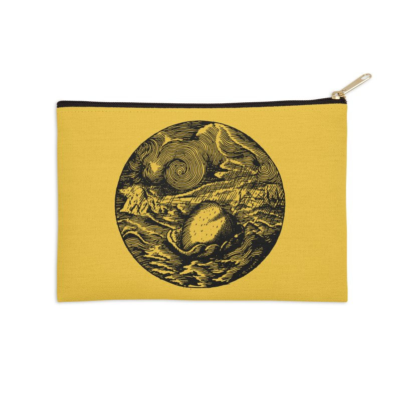 Heart in Peril Accessories Zip Pouch by SHOP THORAZOS TSHIRTS