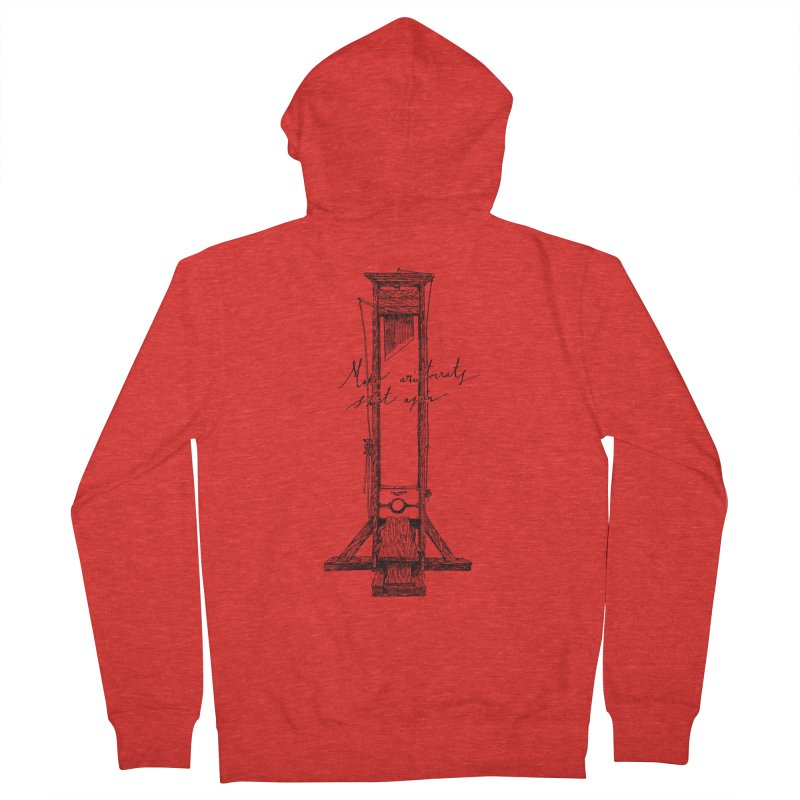 Make Aristocrats Short Again Women's Zip-Up Hoody by SHOP THORAZOS TSHIRTS