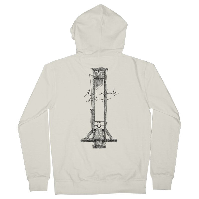 Make Aristocrats Short Again Women's French Terry Zip-Up Hoody by SHOP THORAZOS TSHIRTS
