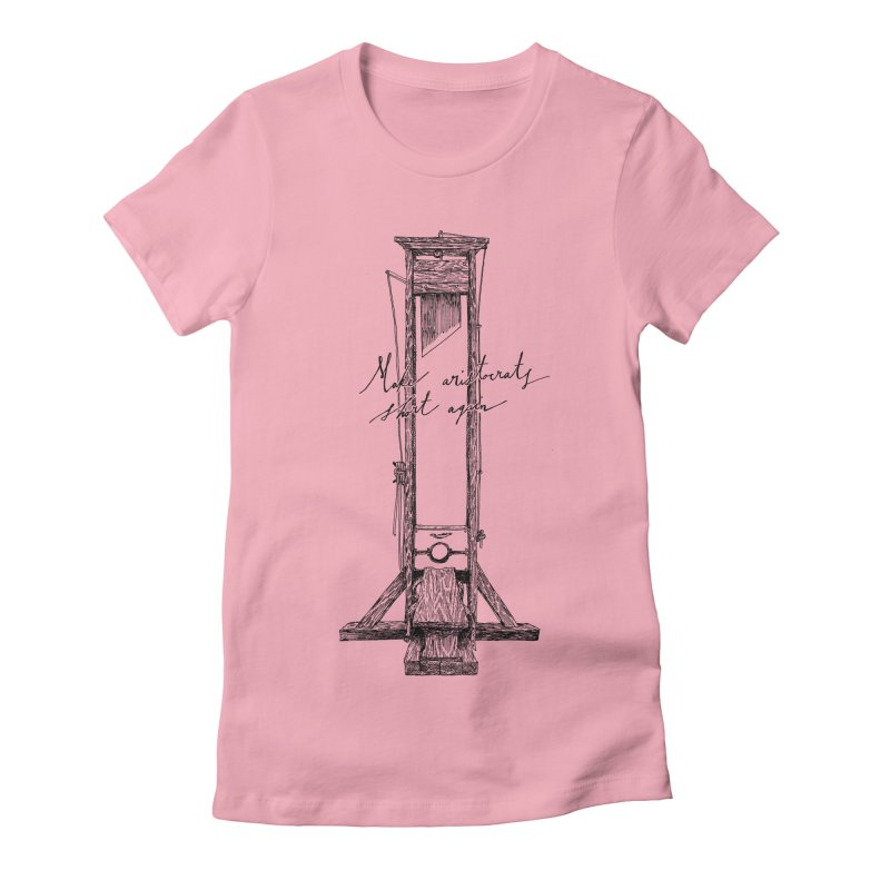 Make Aristocrats Short Again Women's Fitted T-Shirt by SHOP THORAZOS TSHIRTS