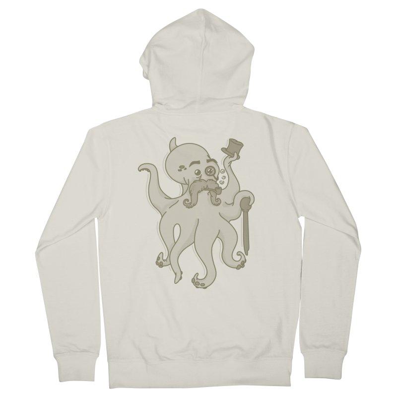 Sir Octopus! Men's Zip-Up Hoody by Thorne Creative's Artist Shop