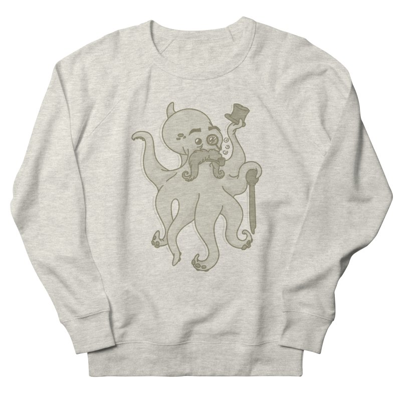 Sir Octopus! Men's French Terry Sweatshirt by Thorne Creative's Artist Shop