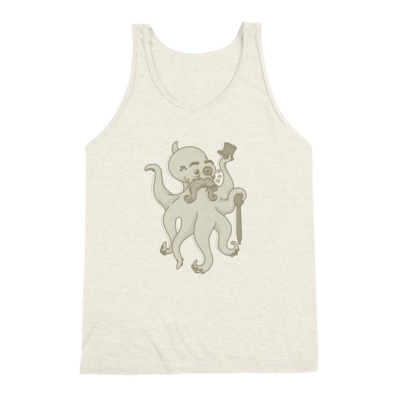 Sir Octopus! Men's Triblend Tank by Thorne Creative's Artist Shop