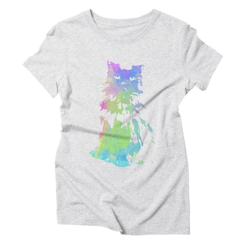 Watercolour Princess Women's Triblend T-shirt by Thorne Creative's Artist Shop