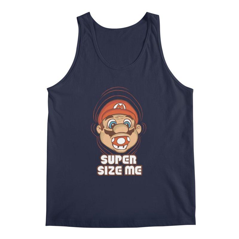 Super Size Me Men's Tank by thosoe's Artist Shop
