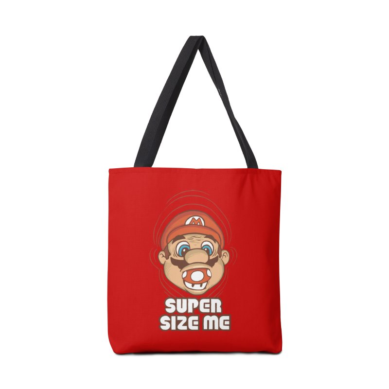 Super Size Me Accessories Bag by thosoe's Artist Shop