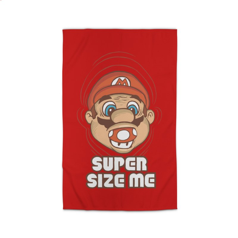 Super Size Me Home Rug by thosoe's Artist Shop