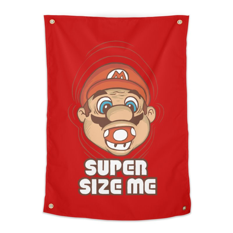 Super Size Me Home Tapestry by thosoe's Artist Shop