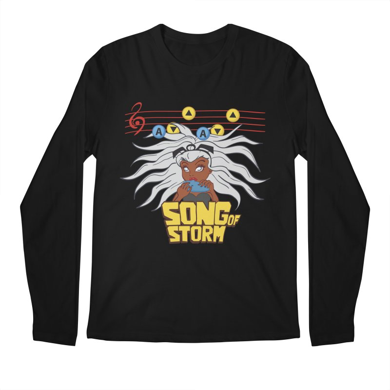 Song of Storm Men's Longsleeve T-Shirt by thosoe's Artist Shop