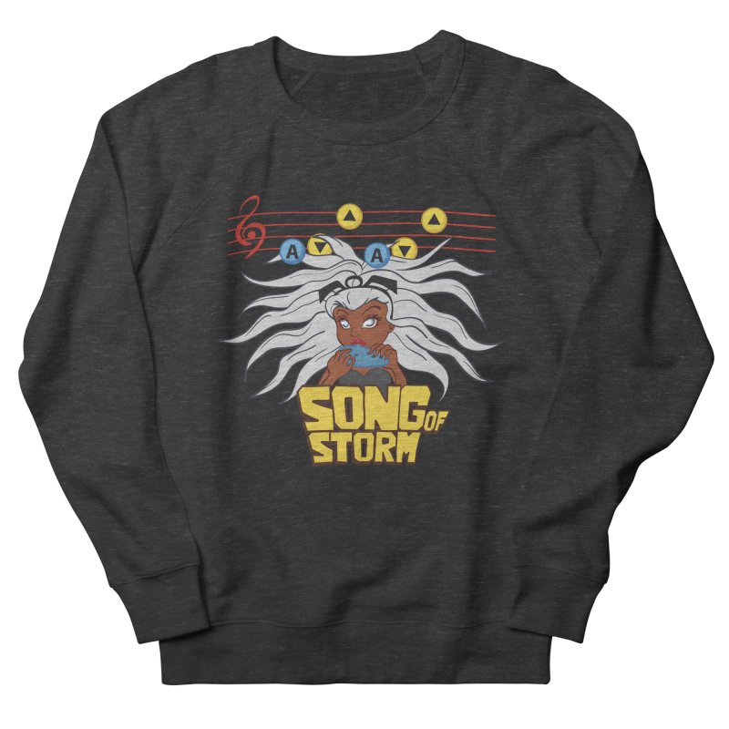 Song of Storm Men's Sweatshirt by thosoe's Artist Shop