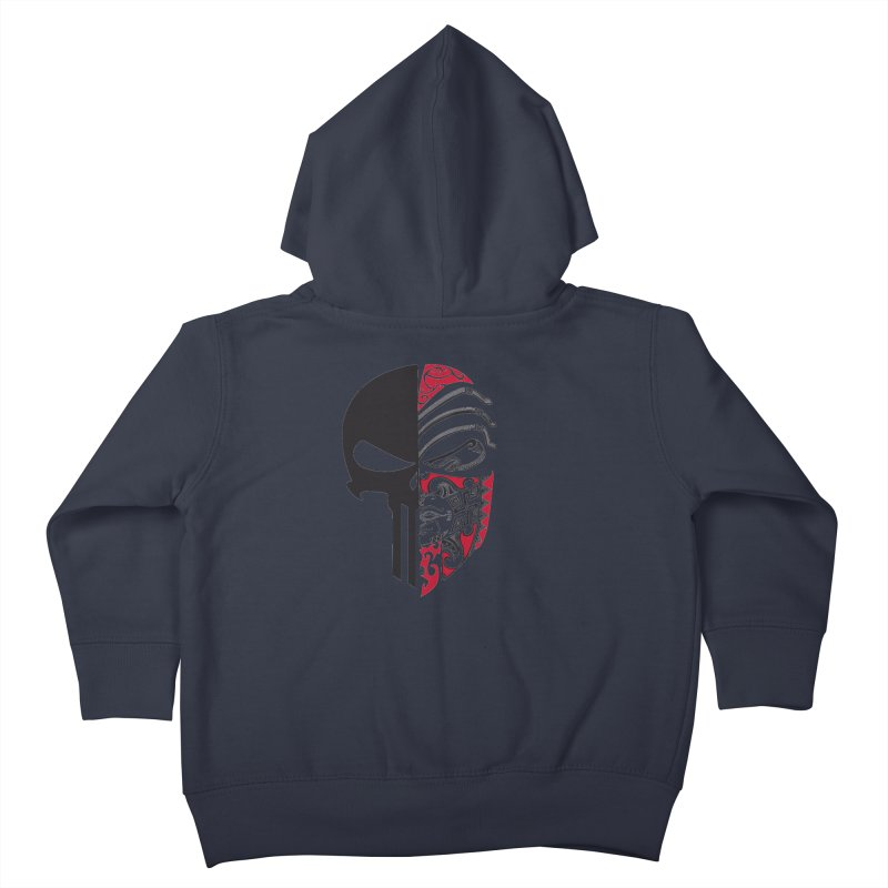 Punisher Kids Toddler Zip-Up Hoody by Shirt For Brains