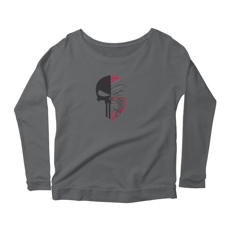 Punisher Women's Longsleeve T-Shirt by Shirt For Brains