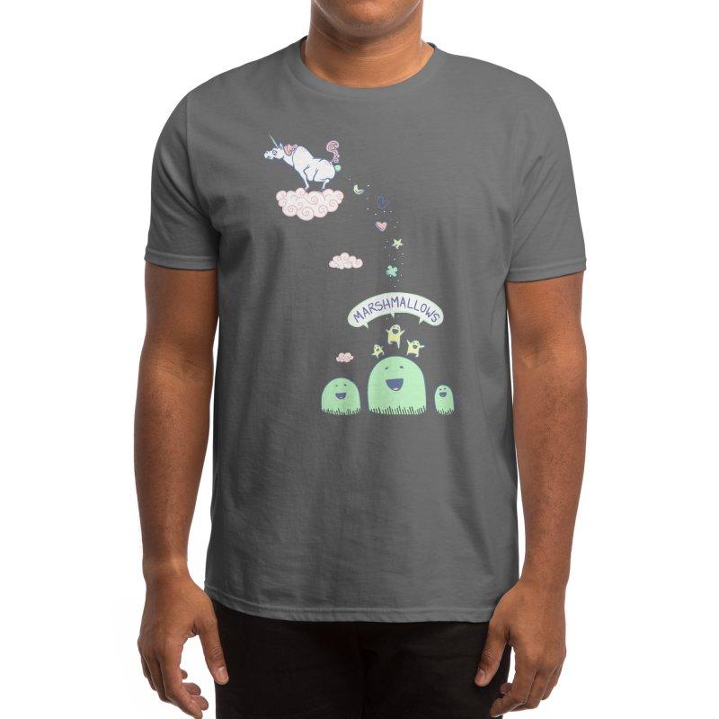 Marshmallow Factory Men's T-Shirt by Threadless Artist Shop