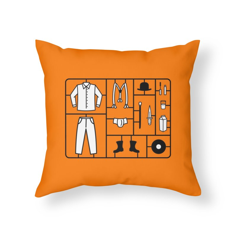 Clockwork Kit Home Throw Pillow by Threadless Artist Shop