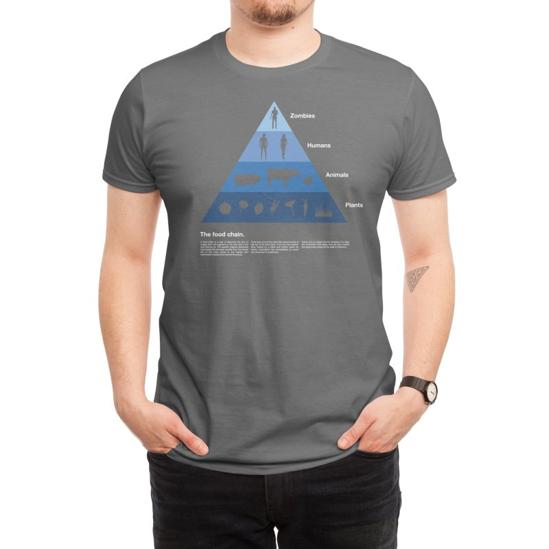 The Food Chain Men's T-Shirt by Threadless Artist Shop