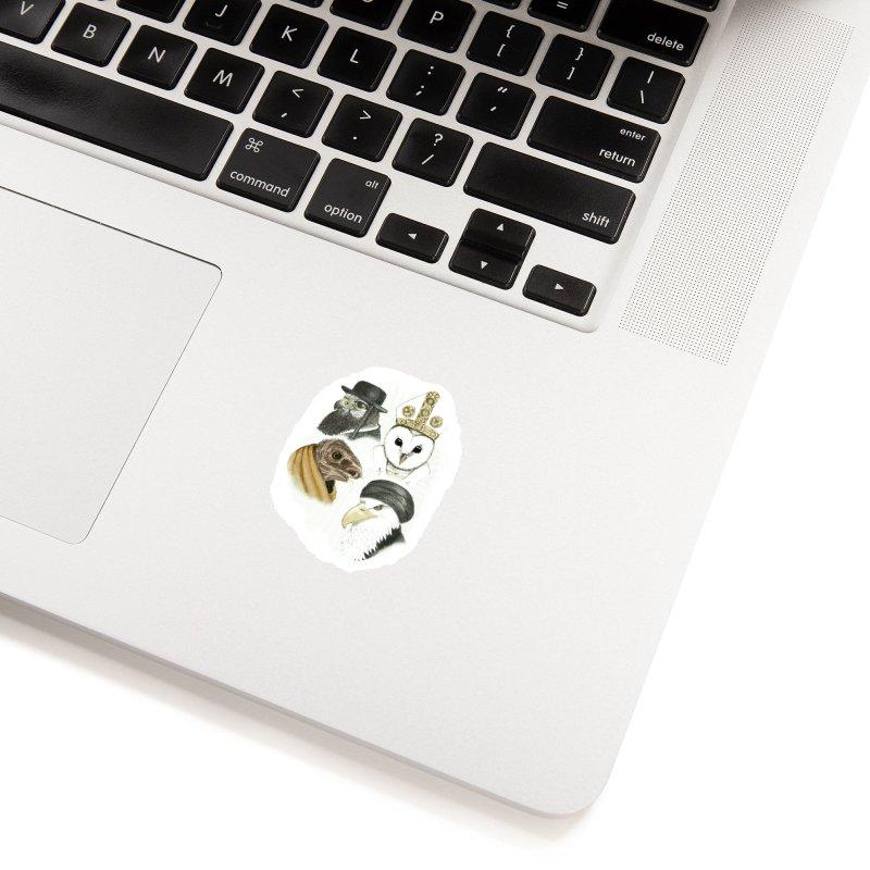 Birds of Pray Accessories Sticker by Threadless Artist Shop