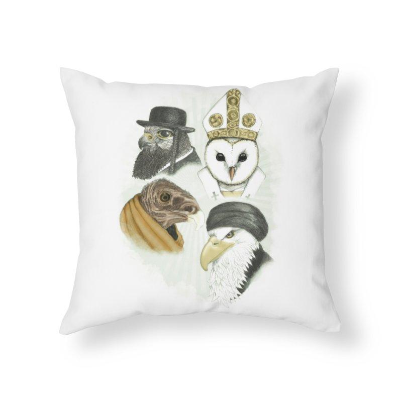 Birds of Pray Home Throw Pillow by Threadless Artist Shop