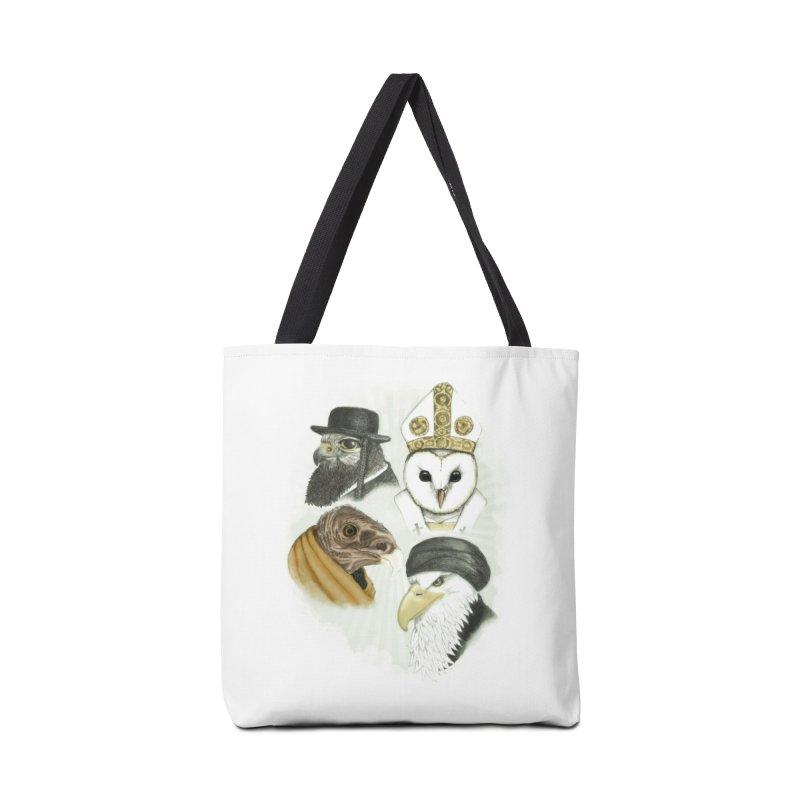Birds of Pray Accessories Bag by Threadless Artist Shop