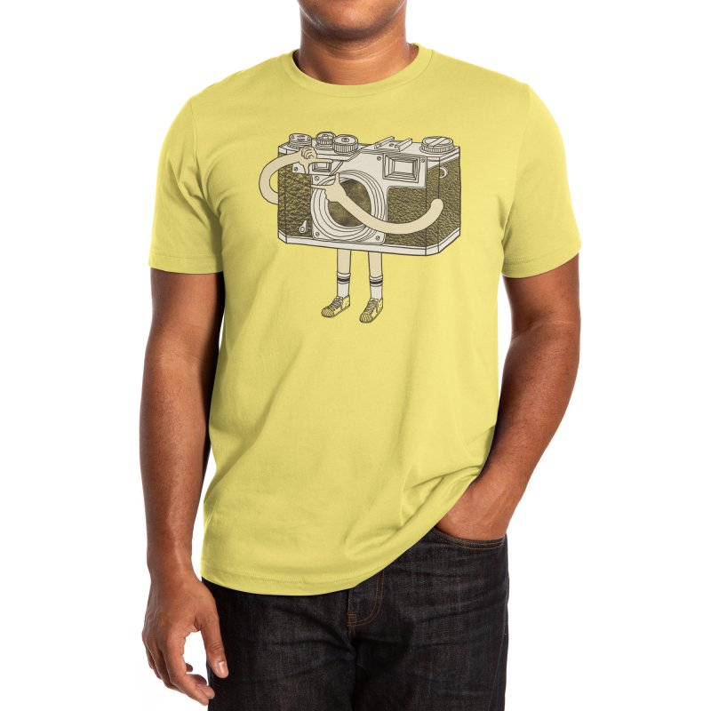 Photographer Men's T-Shirt by Threadless Artist Shop
