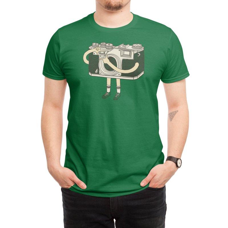 Photographer Men's T-Shirt by Threadless Artist Shop