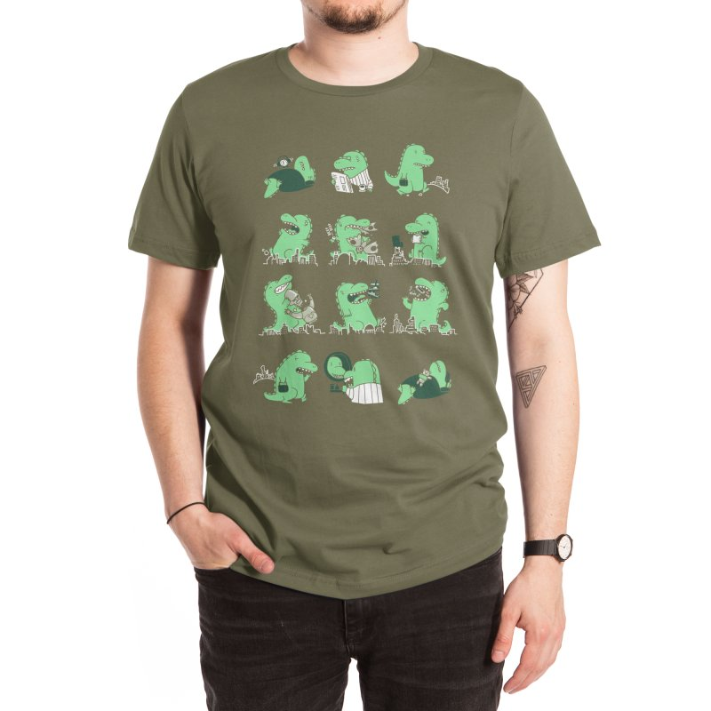 A Day in the Life Men's T-Shirt by Threadless Artist Shop