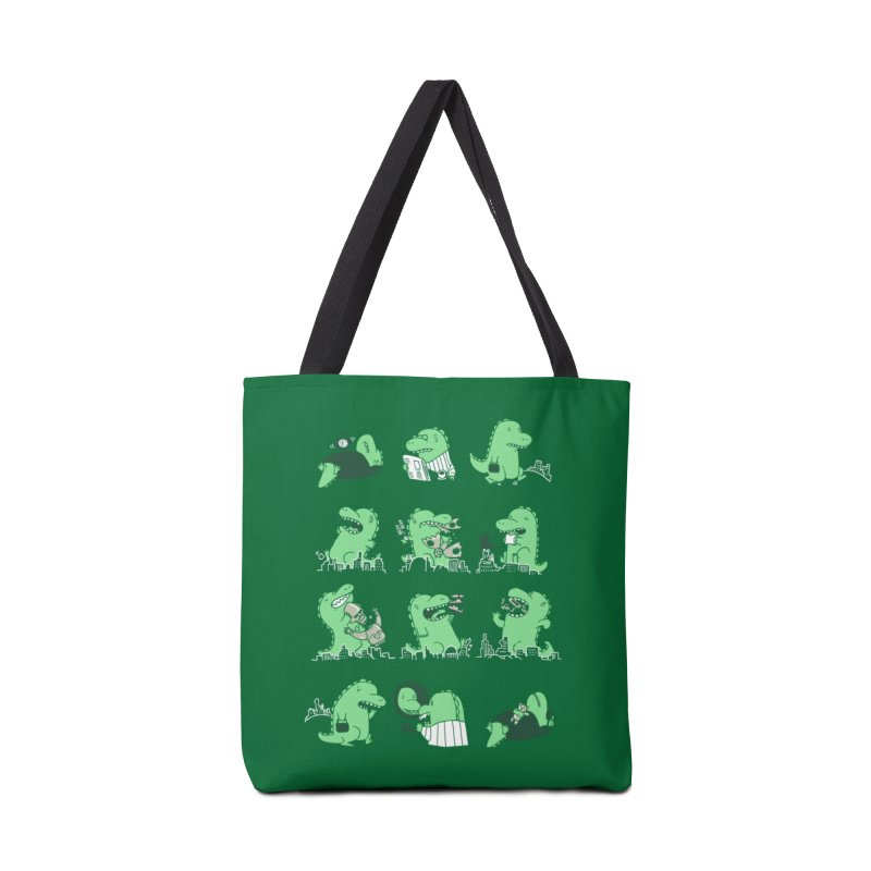 A Day in the Life Accessories Bag by Threadless Artist Shop