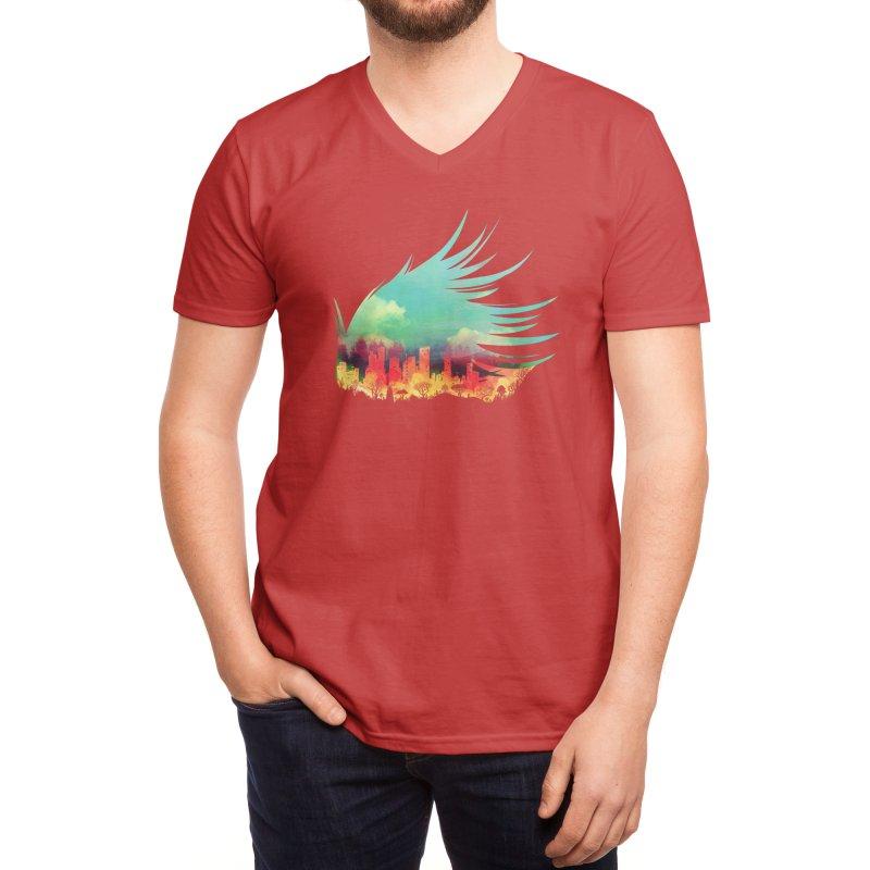 In Flying Colours Men's V-Neck by Threadless Artist Shop