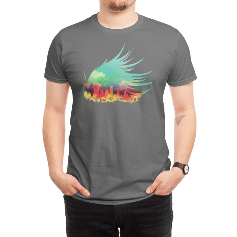 In Flying Colours Men's T-Shirt by Threadless Artist Shop