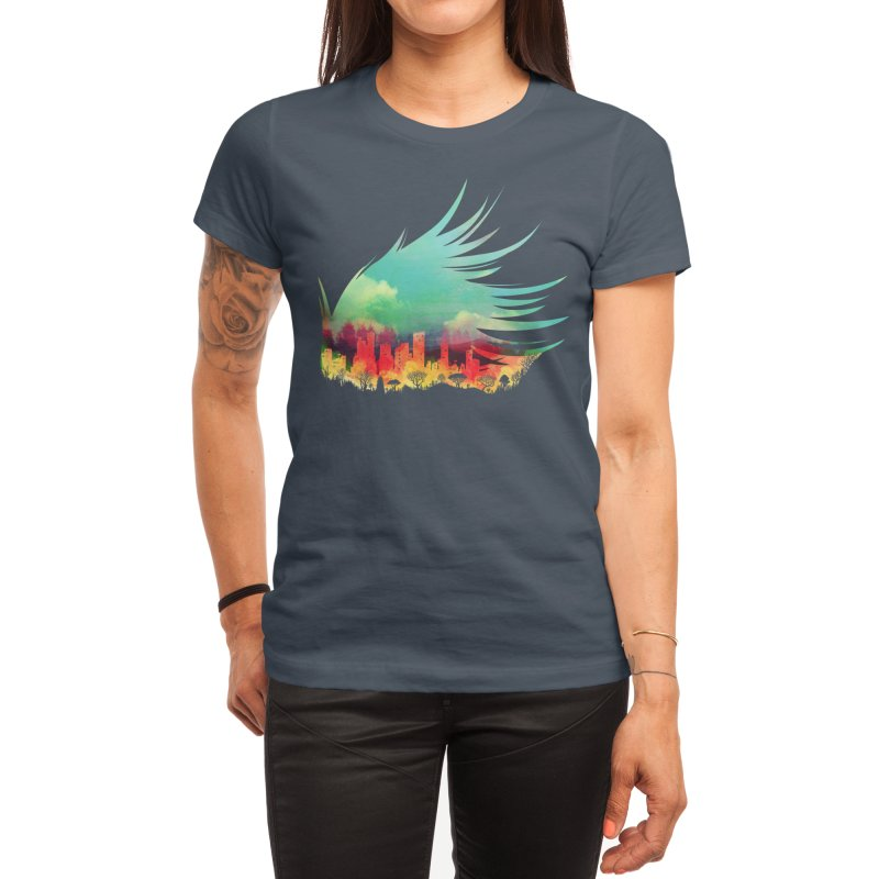 In Flying Colours Women's T-Shirt by Threadless Artist Shop