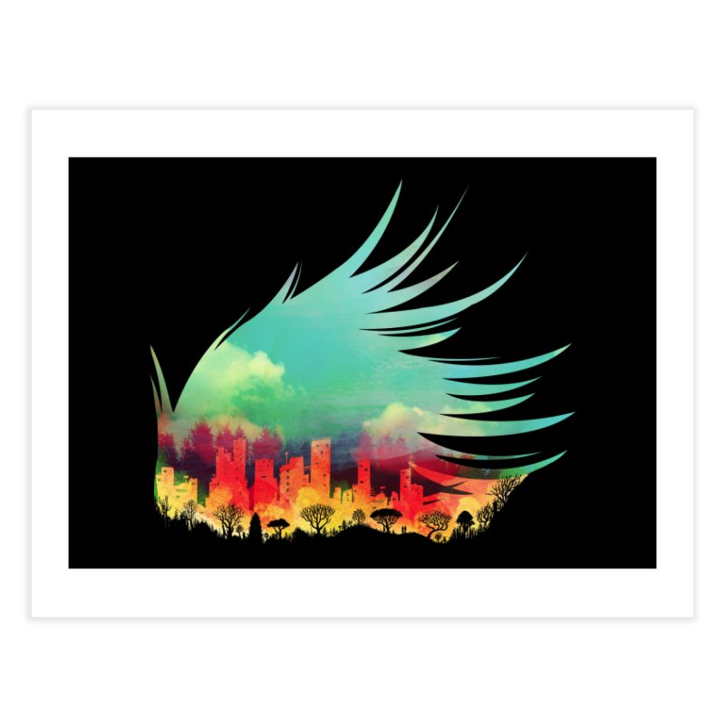 In Flying Colours Home Fine Art Print by Threadless Artist Shop