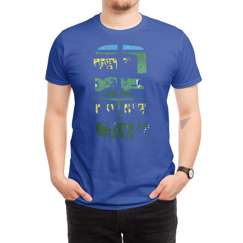 What Lies Beneath Men's T-Shirt by Threadless Artist Shop