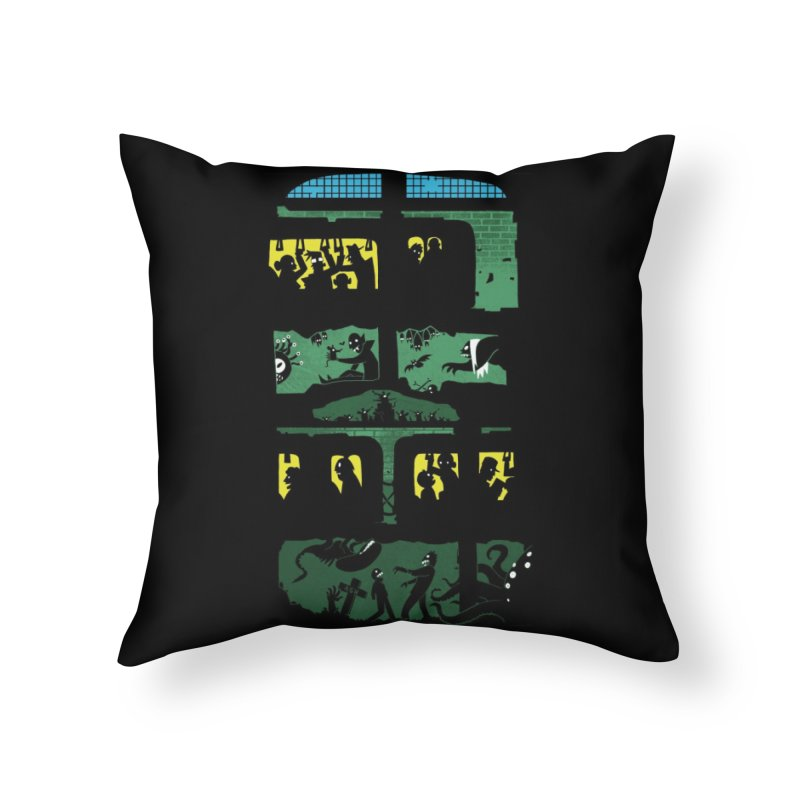 What Lies Beneath Home Throw Pillow by Threadless Artist Shop