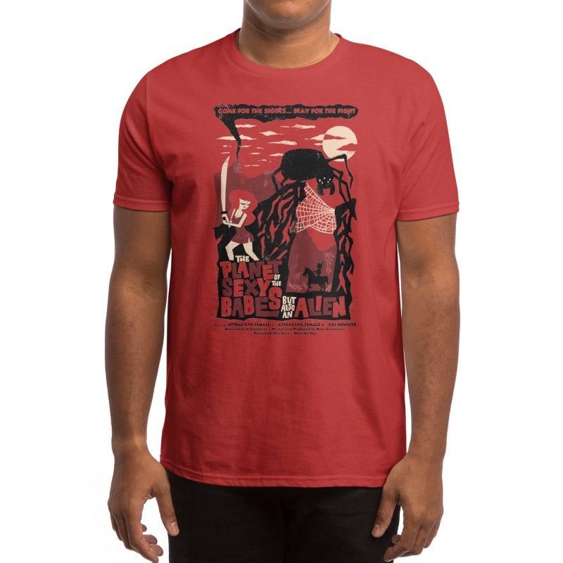 B-Shirt Men's T-Shirt by Threadless Artist Shop