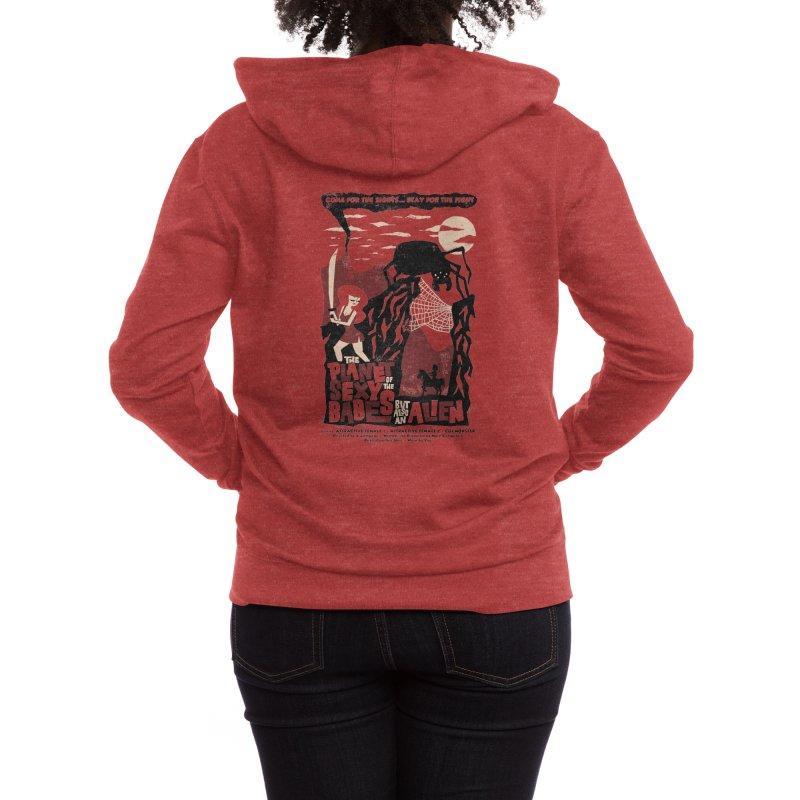 B-Shirt Women's Zip-Up Hoody by Threadless Artist Shop