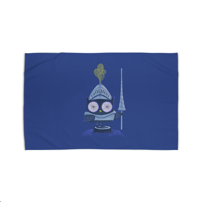 Knight Owl Home Rug by Threadless Artist Shop