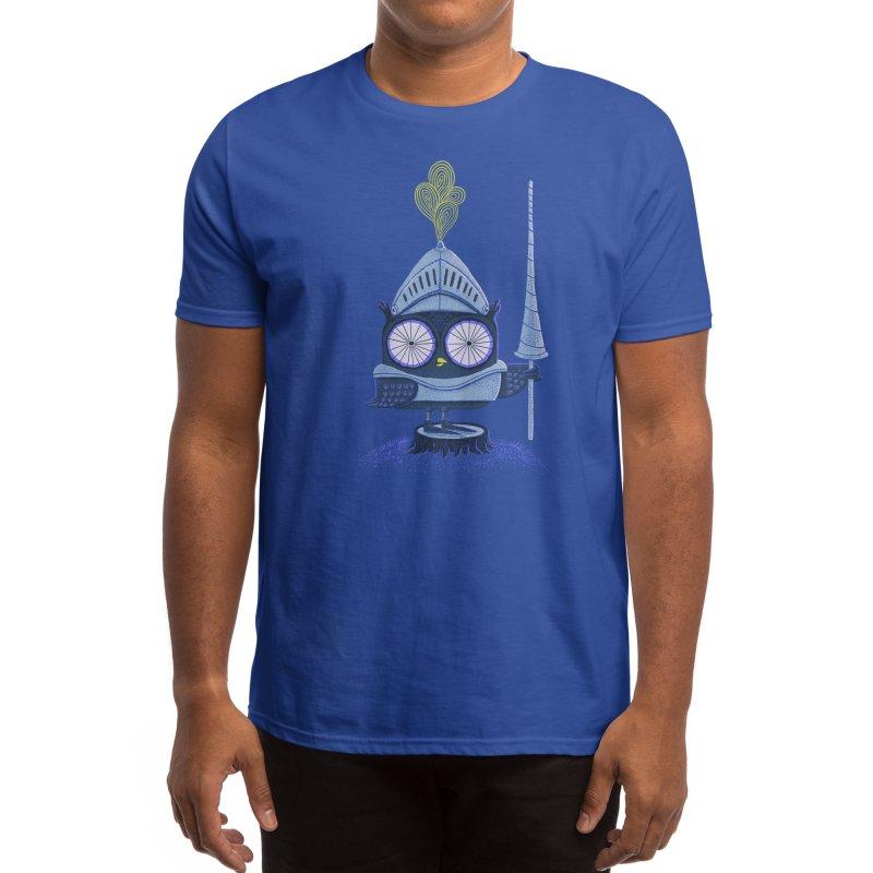 Knight Owl Men's T-Shirt by Threadless Artist Shop