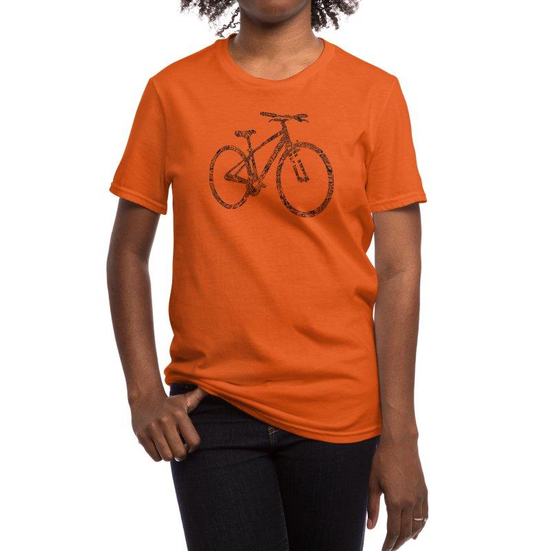 Mapped Out: DTG Women's T-Shirt by Threadless Artist Shop