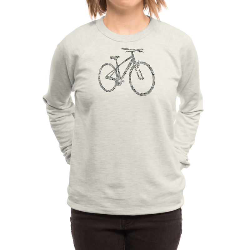 Mapped Out: DTG Women's Sweatshirt by Threadless Artist Shop