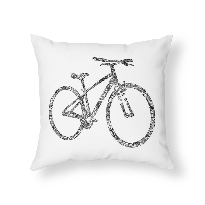 Mapped Out: DTG Home Throw Pillow by Threadless Artist Shop