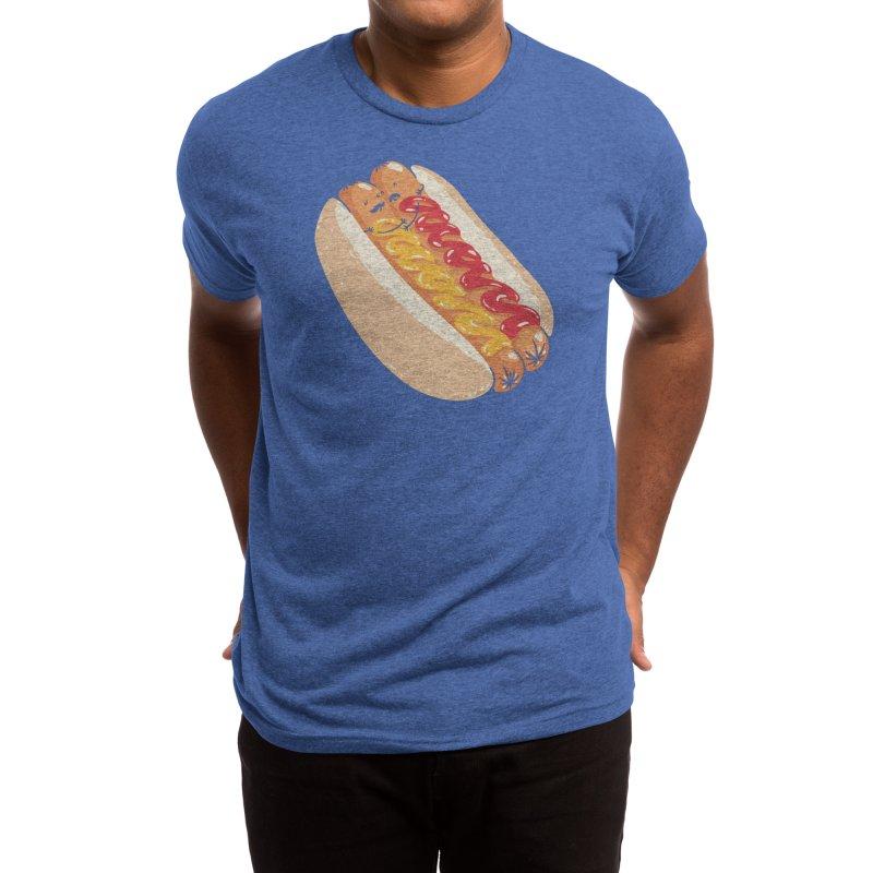 Hotdogs in a bun Men's T-Shirt by Threadless Artist Shop