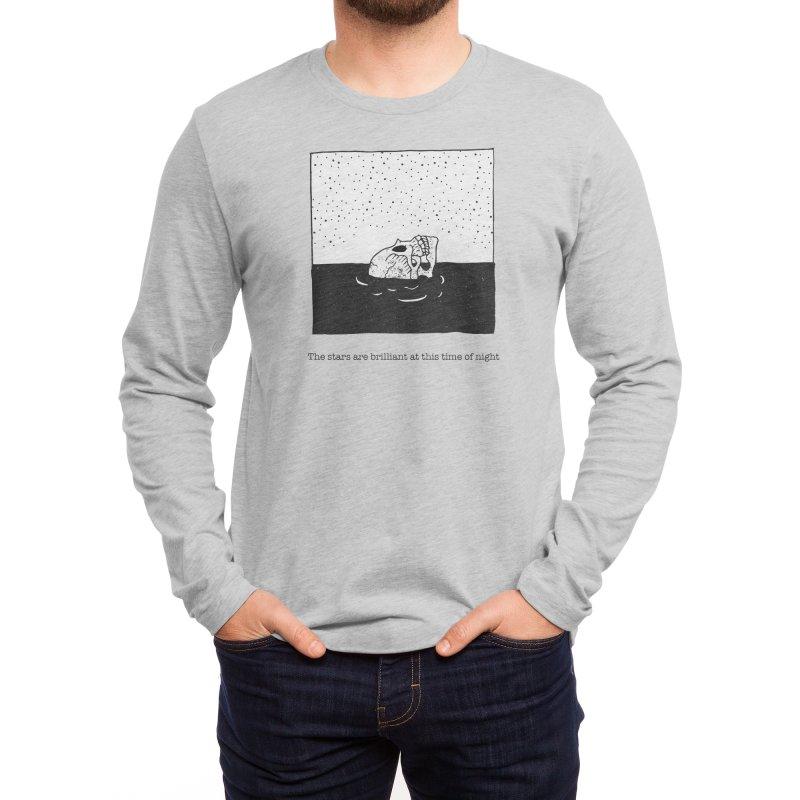Drowning in Bliss Men's Longsleeve T-Shirt by Threadless Artist Shop