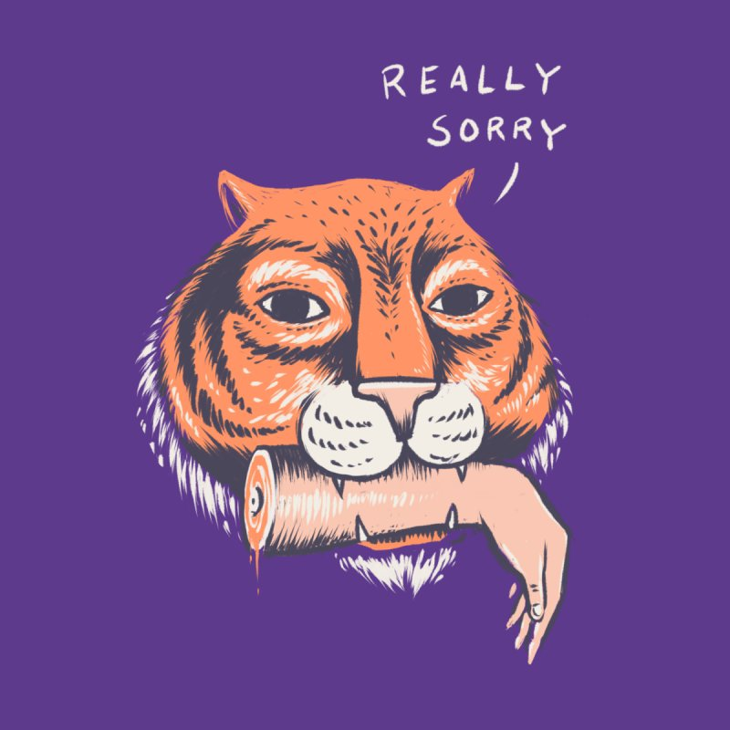 Really Sorry Kids T-Shirt by Threadless Artist Shop
