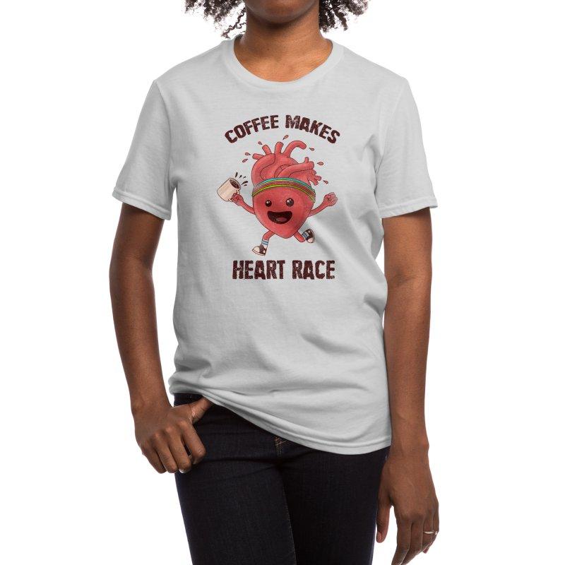 HEART RACE Women's T-Shirt by Threadless Artist Shop