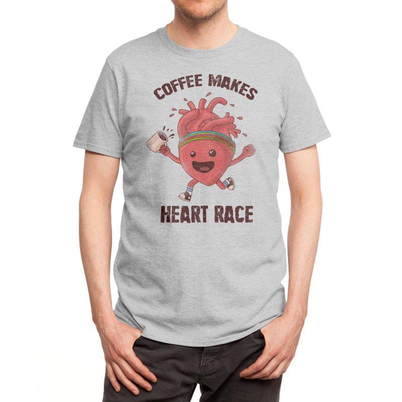 HEART RACE Men's T-Shirt by Threadless Artist Shop