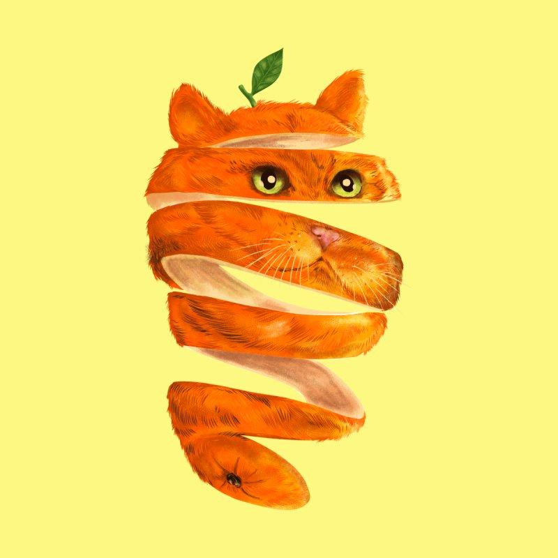 Orange Cat Men's T-Shirt by Threadless Artist Shop