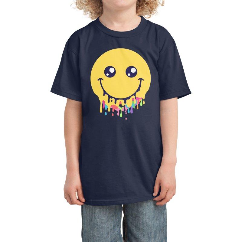 Melt Down Kids T-Shirt by Threadless Artist Shop
