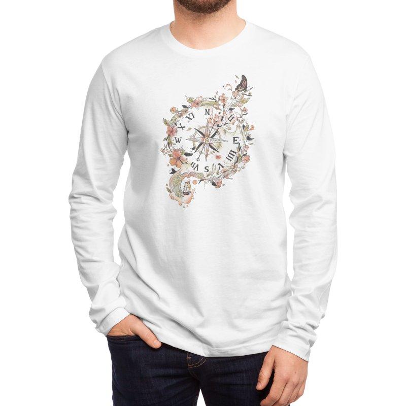 Au Revoir Men's Longsleeve T-Shirt by Threadless Artist Shop