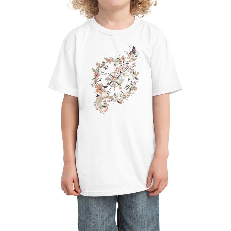 Au Revoir Kids T-Shirt by Threadless Artist Shop