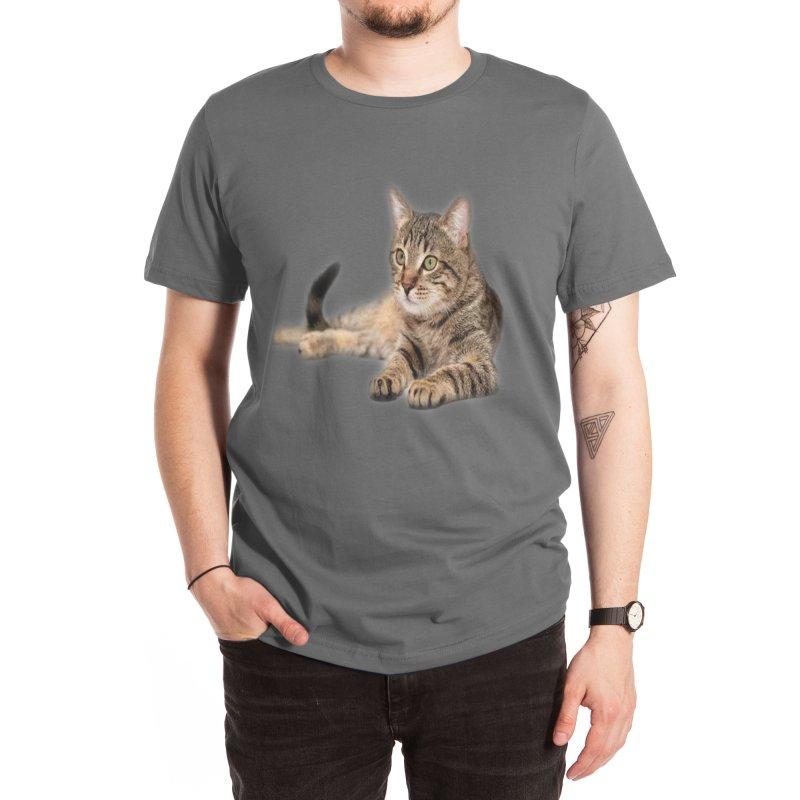 Cat Men's T-Shirt by Threadless Artist Shop